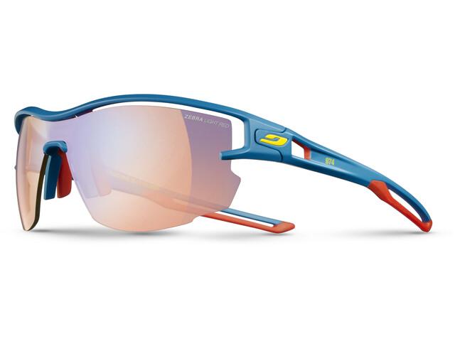Julbo Aero Zebra Light Fire Sunglasses Blue/Red/Yellow-Multilayer Red